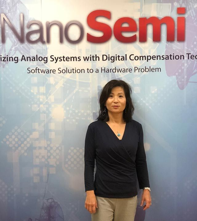 Helen Kim, CEO of NanoSemi
