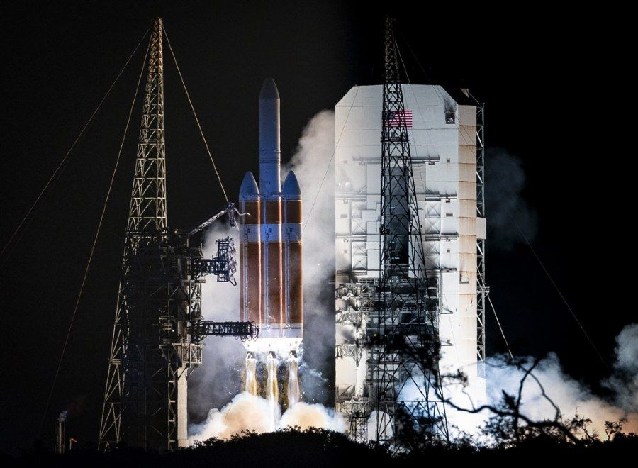 Figure 7. Parker Solar Probe launch. Image courtesy JHU APL. http://parkersolarprobe.jhuapl.edu/