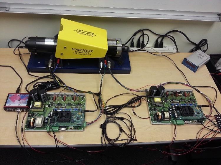 Figure 8. Final desktop dynamometer system.