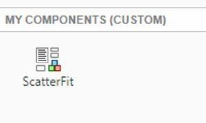 Figure 7. Custom chart integrated with App Designer.