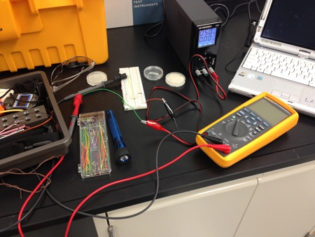 Figure 2. Instrumentation lab setup.