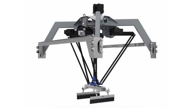 Krones、荷物処理ロボット「デジタルツイン」を開発