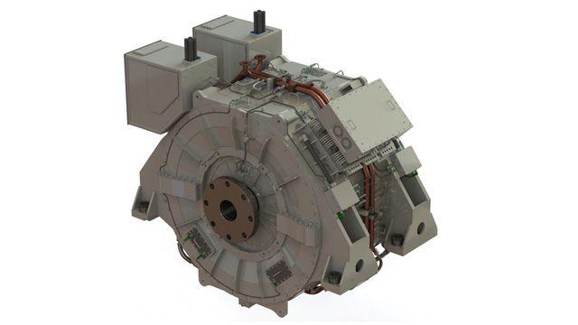 Large Propulsion Motor