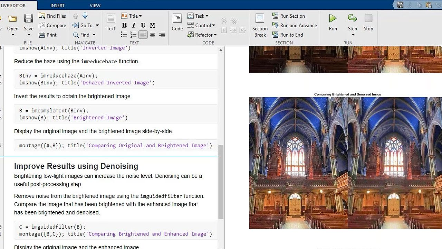 Image Processing Toolbox を使って、画像処理、解析、アルゴリズム開発を行います.