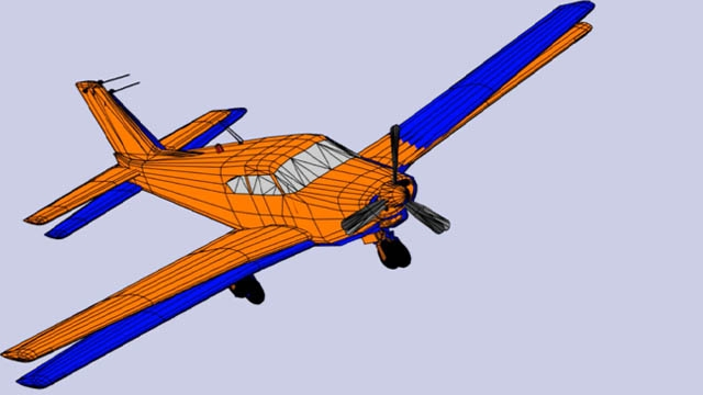 Aerospace Toolbox では参照標準とモデルを使用して、航空宇宙機の運動を解析および可視化できます。