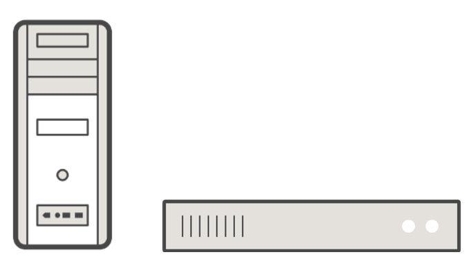 産業用PCのイメージ