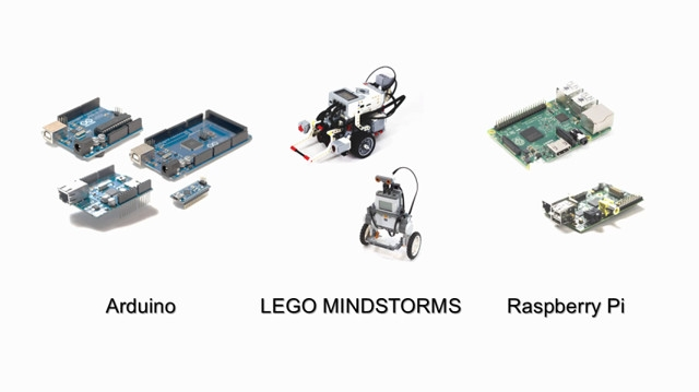 Simulink provides built-in support for prototyping, testing, and running models on low-cost target hardware, such as Arduino , LEGO MINDSTORMS NXT, and Raspberry Pi.