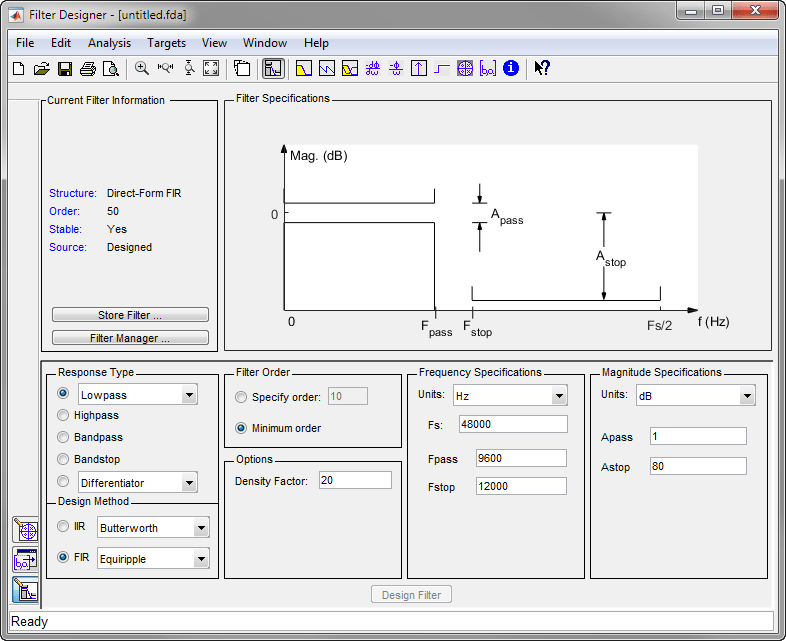 フィルター デザイナー入門 - MATLAB & Simulink - MathWorks 日本