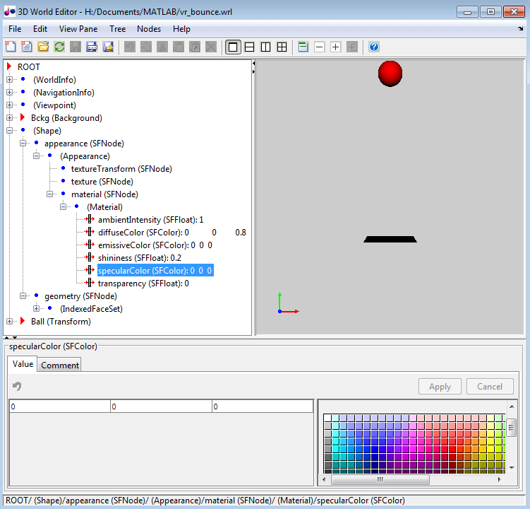 Choose a virtual world editor matlab simulink 3d editor