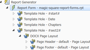 Report Forms