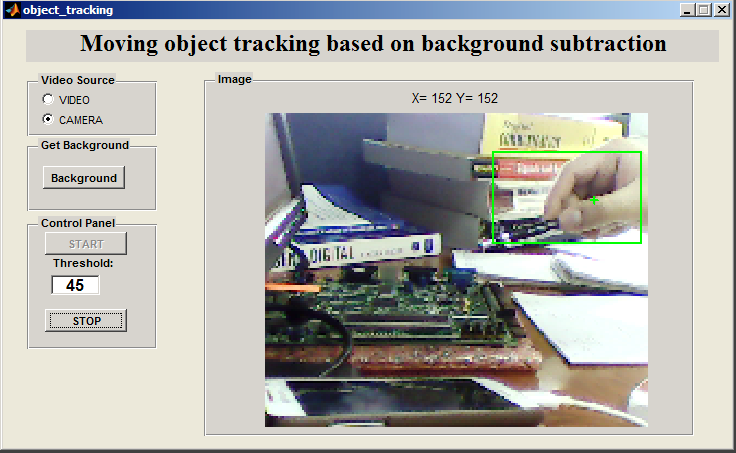 multiple objects tracking via collaborative background subtraction computer science essay Object tracking via a collaborative camera  information is used to track the object  by performing simple background subtraction.