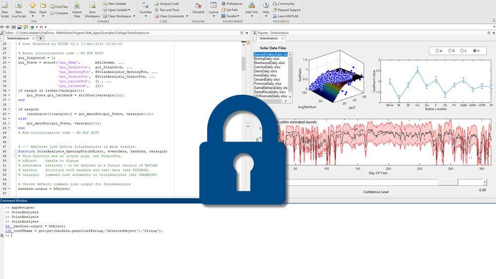 パッケージ化の段階で業界標準の暗号化を適用。