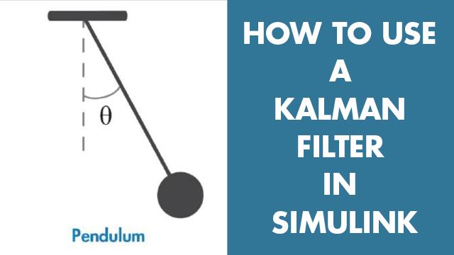 Simulink のカルマンフィルターを使用して単純な振子システムの角度を推定。システムモデル、初期状態の推定、およびノイズ特性などのカルマンフィルターのブロックパラメーターを設定する方法について学びます。