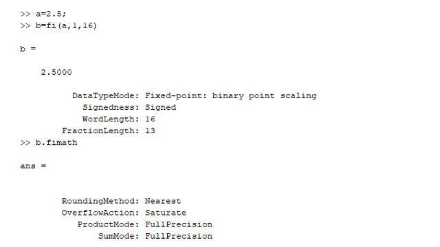 固定小数点データ型とそのプロパティ。