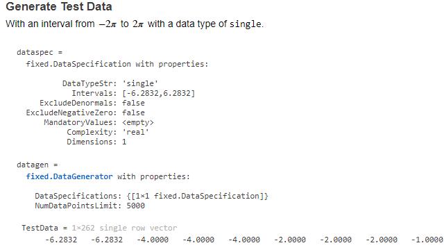 データ ジェネレーター API。