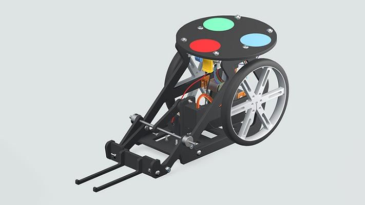 Webcam Controlled Rover