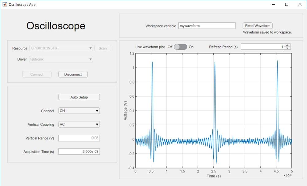 データを収集してスコープ設定を調整するアプリ。