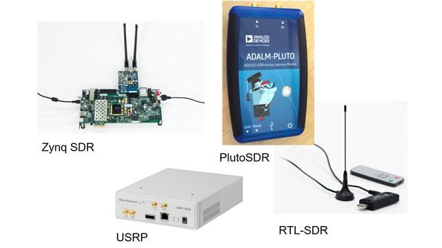 アナログデバイスの AD936x SDR を使用して LTE 信号を送信。