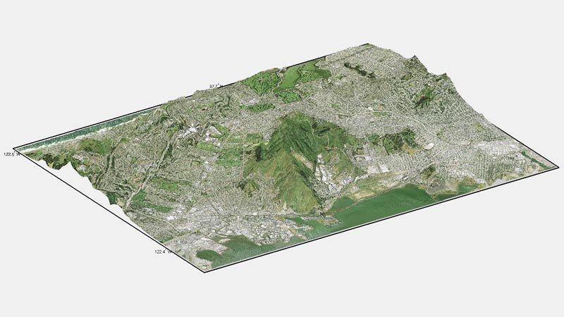地形および標高の解析