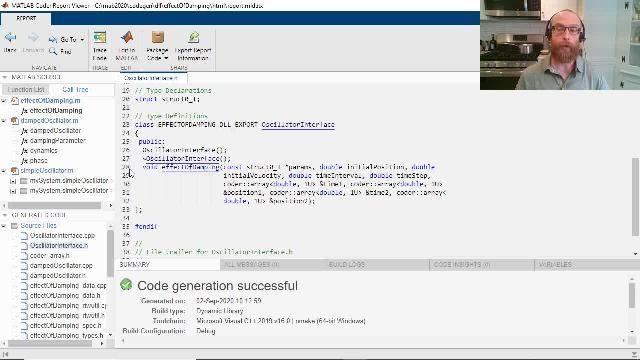 MATLAB Coder を使用して、MATLAB コードからオブジェクト指向の C++ コードを生成する方法をご紹介します。C++ クラスおよび名前空間の生成、例外の安全性、C++ 動的配列などの機能を備えています。