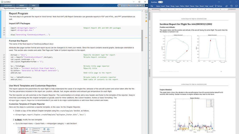 matlab report generator