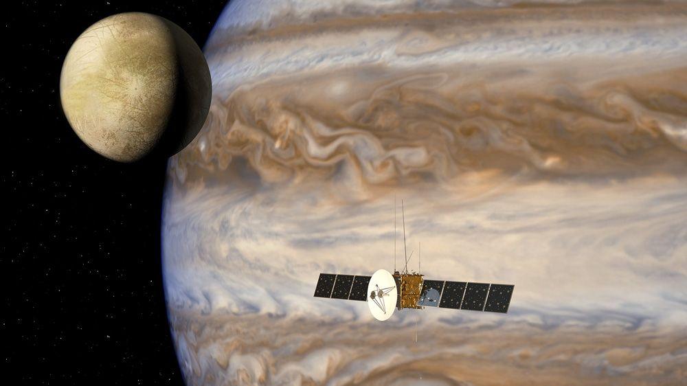 Airbus Defense and Space、木星氷衛星探査計画 (JUICE) のミッション データ フローをシミュレート。