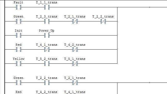 ラダー図を生成して、IDE にインポートします。