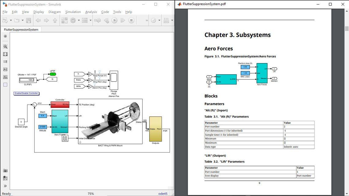 モデルのシステム設計の記述 (SDD) レポート