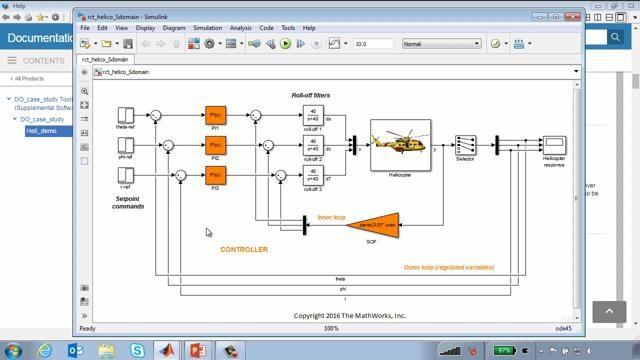 この Web セミナーでは、航空機の認定要件を満たすシステムを開発するワークフローの大まかな概要を説明します。ワークフローのデモを、ヘリコプターフライト制御システムの例を使用して行います。