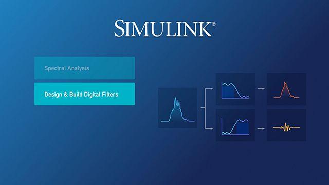 Simulink を使って信号処理システムを構築する方法の基礎をご紹介します。信号を解析し、フィルターを設計して、太陽エネルギーグリッドから生成される電力を最適化するアルゴリズムを作成します。