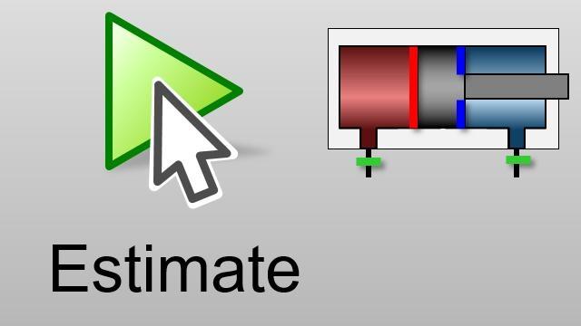シミュレーション結果が測定データと一致するまでパラメーターを自動的に調整します。最適化アルゴリズムを使用して Simscape Fluids モデルの現実的なパラメーター値を取得します。