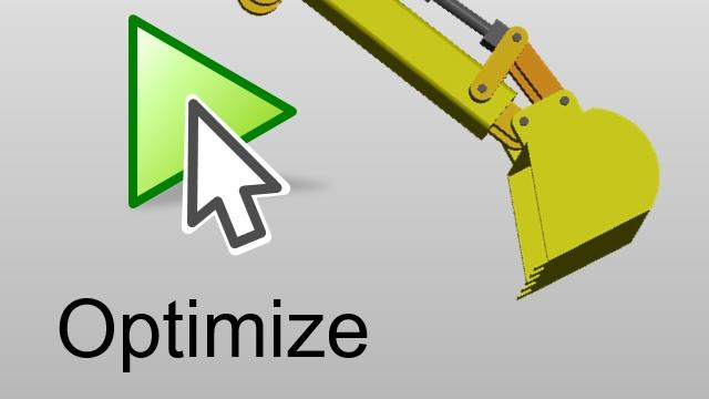 油圧機械式作動システムを最適化して、システム要件を満たす。Simscape Fluids モデルのパラメーターは、最適化アルゴリズムで自動的に調整されます。