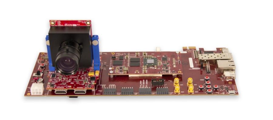 実際のビデオ入力を使用して FPGA ハードウェアに設計のプロトタイプを作成