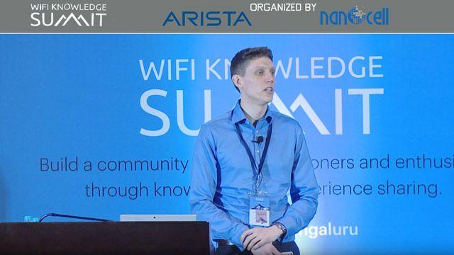 Colin McGuire の WiFi Knowledge Summit における IEEE 802.11ax 規格のモデル化に関する講演