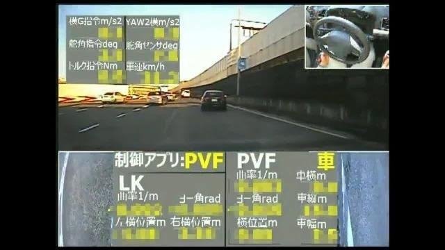 公道でモデル予測制御を用いた ACC の制御アルゴリズムのテスト