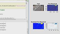 OpenCV インターフェイスを使用して OpenCV ベースのコードを MATLAB に組み込みます。