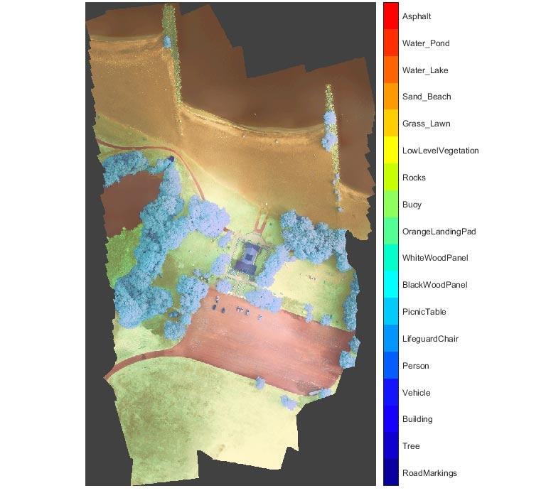 マルチスペクトル衛星画像のセマンティック セグメンテーション