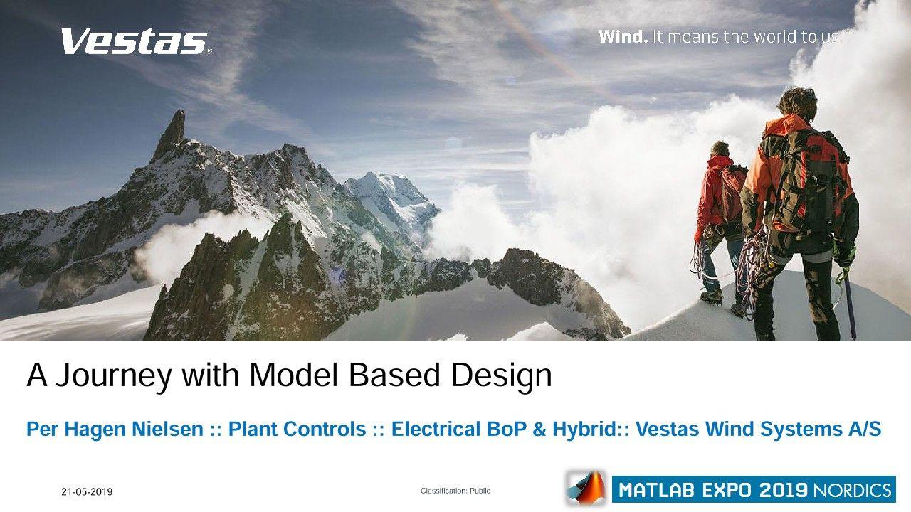 Vestas のハイブリッド発電所のソリューション:モデルベースデザインによる取り組み