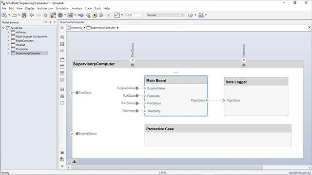 System Composer コンポーネントから Simulink 動作モデルを作成する方法、および既存の Simulink モデルから System Composer コンポーネントを作成する方法をご覧ください。