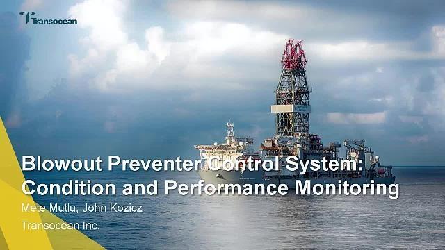 Transocean が物理特性ベースの適応型モデル、信号処理、およびエッジ分析を使用して、Simscape で海中防噴装置 (BOP) パフォーマンスをモニタリングしました。