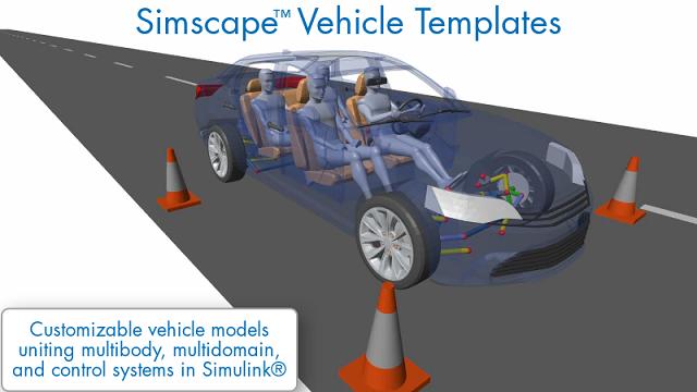 Simscape Vehicle Templates を使用して、幅広い車両設計タスクに使用できるようにカスタマイズ可能な車両モデルを作成する方法をご紹介します。