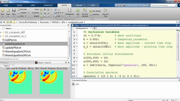 Learn how MATLAB users can leverage NVIDIA GPUs to accelerate computationally intensive applications in areas such as image processing, signal processing, and computational finance.