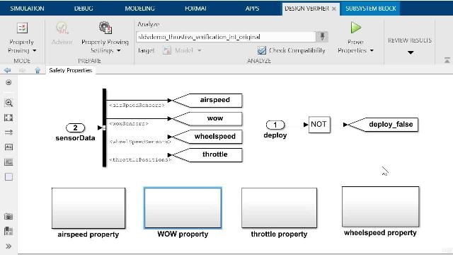 Simulink Design Verifier でプロパティ証明を実行する方法と、Simulink Check のモデル スライサー ツールで自動生成された反例をデバッグする方法を学びます。