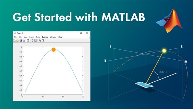 Get started with MATLAB by walking through an example. This video shows you the basics, and it gives you an idea of what working in MATLAB is like.