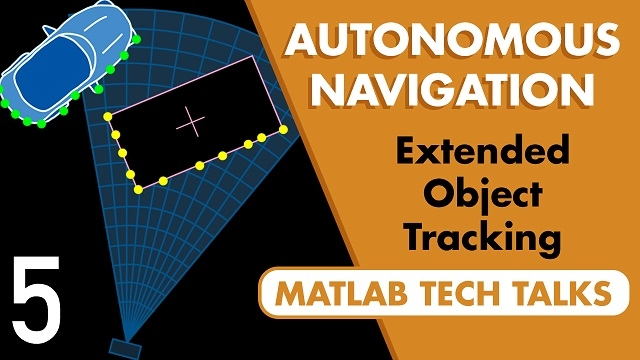 In a lot of scenarios, there are other objects that we may need to observe and track in order to effectively navigate within an environment.  This video is going to look at extended object tracking: objects that returns multiple sensor detections.