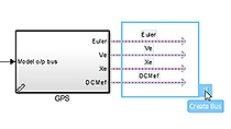 Automatically create a bus from a set of signals using Simulink .
