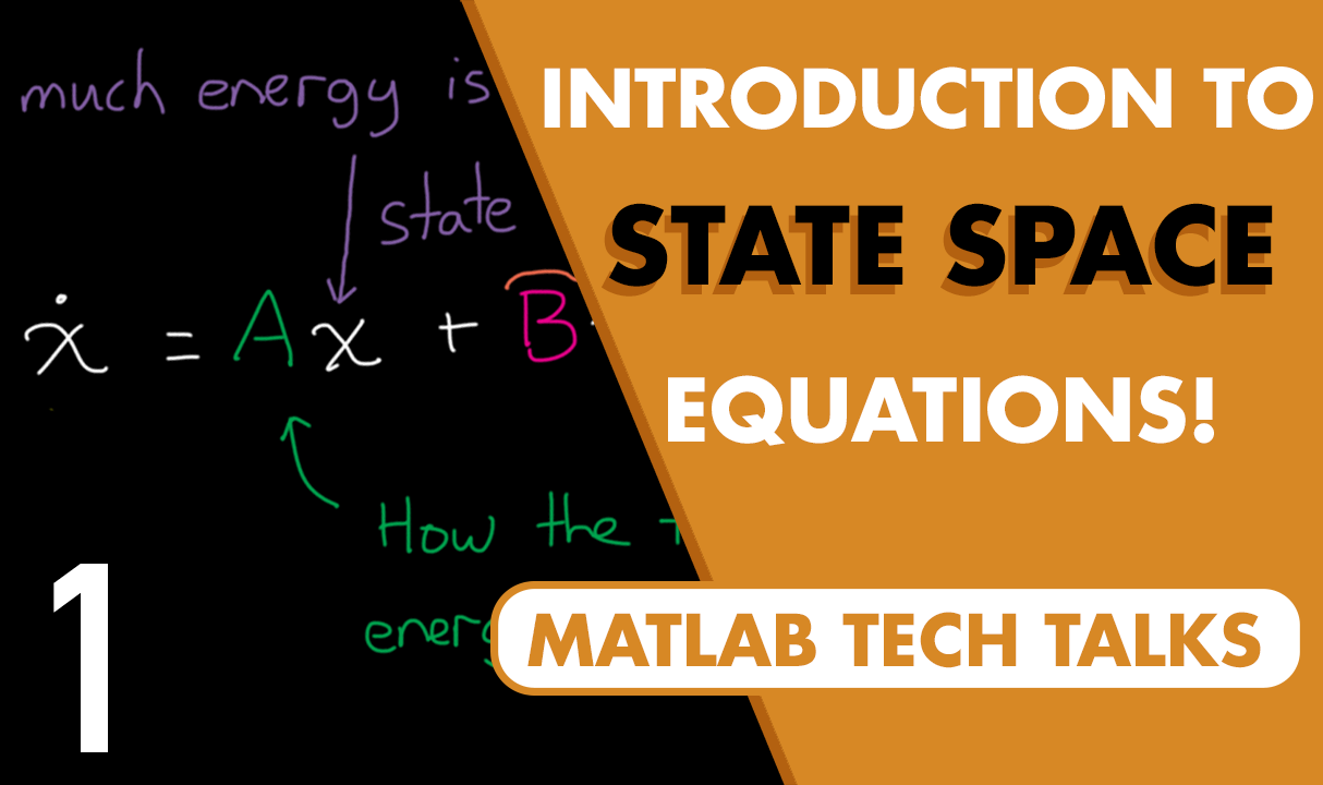 Let's introduce the state-space equations, the model representation of choice for modern control. This video will provide some intuition around how to think about state variables and why this representation is so powerful.