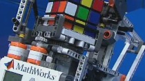 See how Simulink and Embedded Coder can be used to develop an application for LEGO MINDSTORMS NXT that solves a Rubik's Cube.