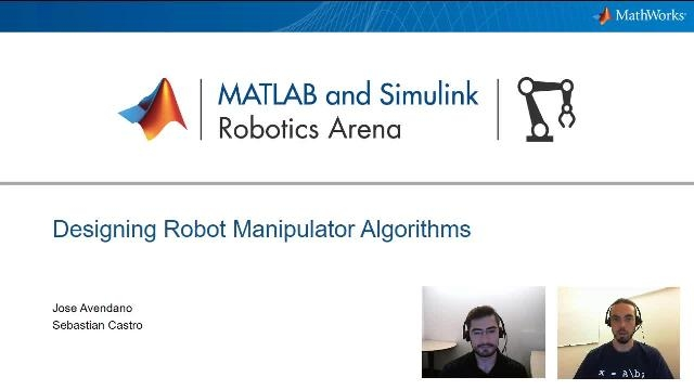 Accelerate the design of robot manipulator algorithms by using the Robotics Systems Toolbox functionality and integrating robot models with simulation tools to program and test manipulation tasks.