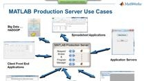 Learn how you can incorporate MATLAB components directly into production environments, saving you the costs and risks of recoding. An overview of MATLAB Production Server will be presented.